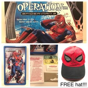 SPIDER-MAN 3 OPERATION skill game and FREE hat!!!